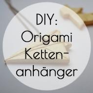 Origamikettenanhänger