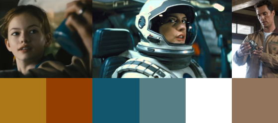 Interstellars Farben