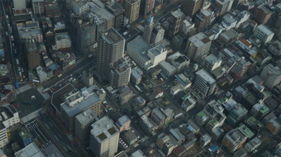 Tokyo, wie man es vom Skytree aus sieht