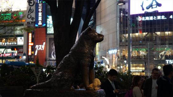 Die Hachiko-Statur