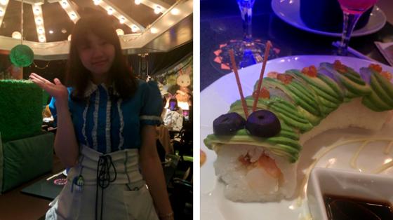 Das Alice im Wunderland-Restaurant