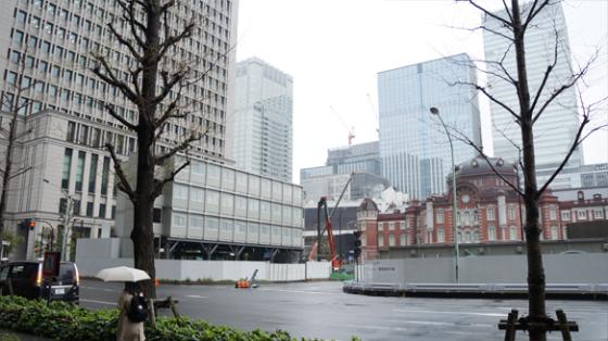 Der Bahnhof von Tokyo.