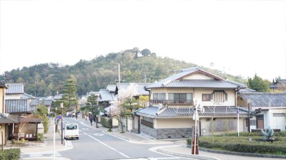 Kyoto, die Stadt der flachen Häuser.