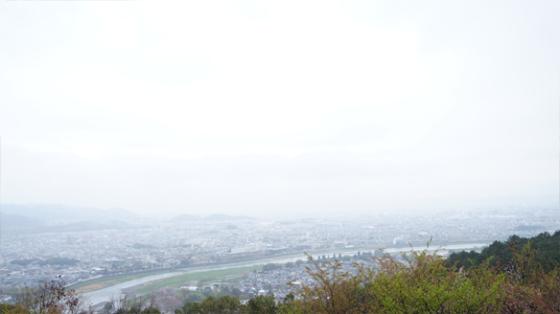 Kyoto von Oben