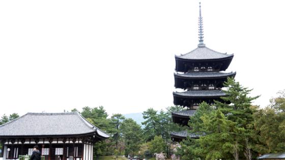 Der Kōfuku-ji in Nara.