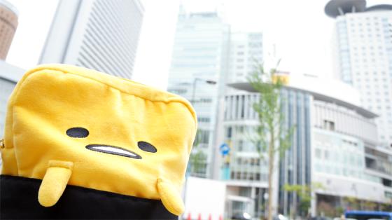 Auch Gudetama ist in Osaka mit von der Partie.