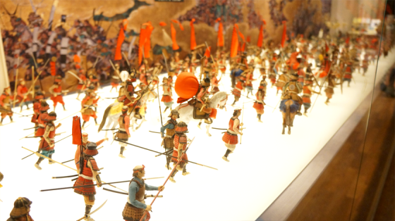 Die Schlacht um Osaka-jo.