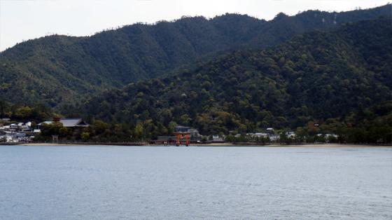 Die Insel Miyajima.