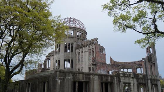 Der Dom in Hiroshima.