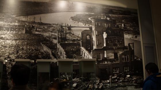 Hiroshima nach dem Atombombenabwurf.