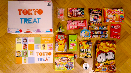 Tokyo Treat Japanese Candy Unboxed