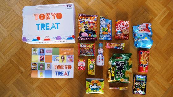 Tokyo Treat: Japanische Süßigkeiten Subscription Box - Dezember Version