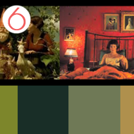 Die fabelhafte Welt der Amélie – Farbpalette