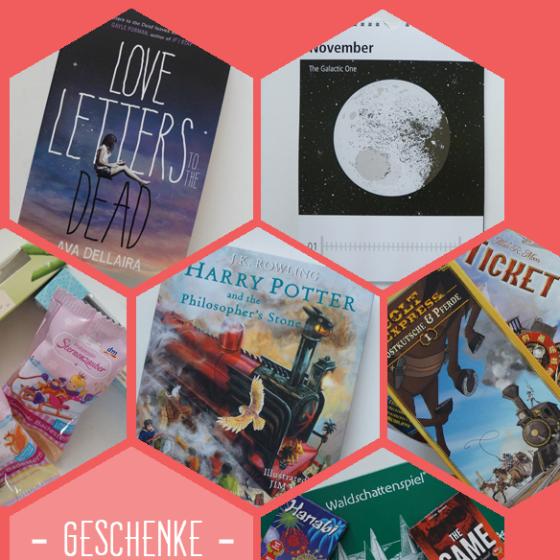 Weihnachtsgeschenke! Love Letters to the Dead, Illustrationskalender, Badezusätze, Harry Potter, Brettspiele