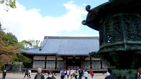 Das Hauptgebäude des Ninna-ji.