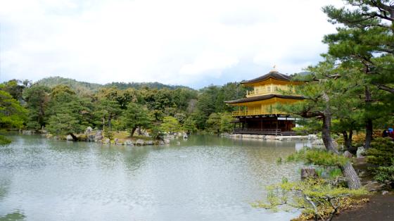 Der Eingang zum Kinkaku-ji.
