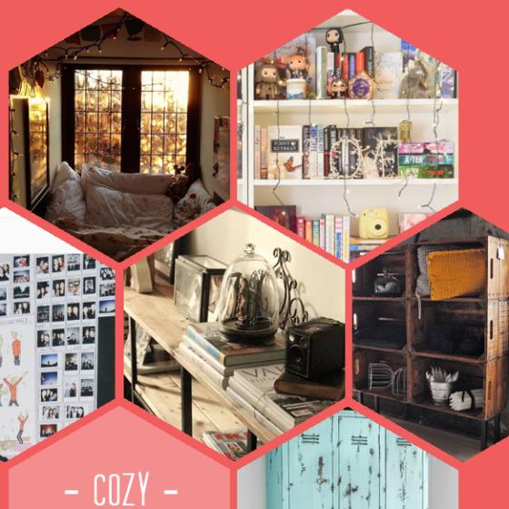 Gemütliche Betten, volle Bücherregale, Fotowände, Holz, noch mehr Holz und alte Spinde.