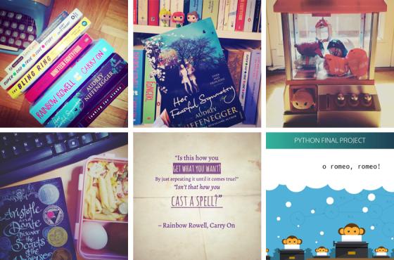 Lieblingsbücher, Ufomaschine, Bento, Carry On, Python