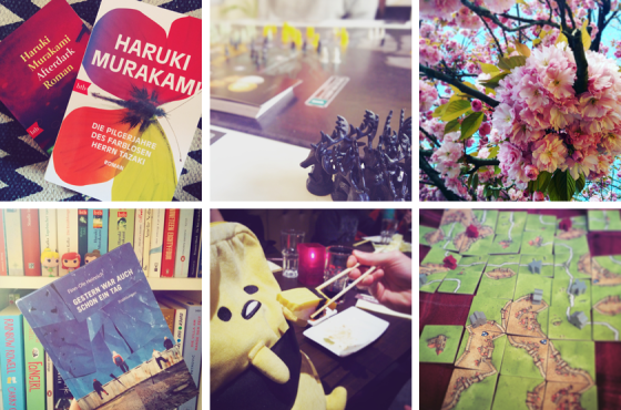 Murakami, Risiko, Frühlingsanfang, Lieblingsbücher, Gudetama, Carcassonne