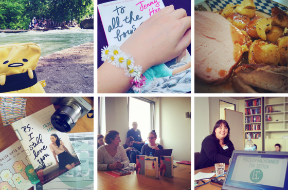 Bayern Urlaub, To all the Boys I loved before, P.S. I still love you, Litblog Convention