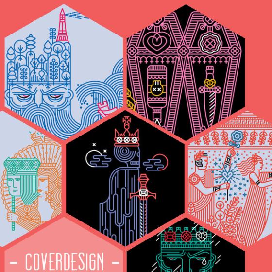 Ein Teil der Cover der Neuauflage der Shakespeare Pelican-Edition.
