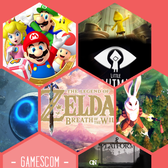 Neue Spiele der Gamescom 2016: Mario Party Star Rush, Little Nightmares, Robinson the Journey, The Legend of Zelda: Breath of the wild, Armello, Typoman
