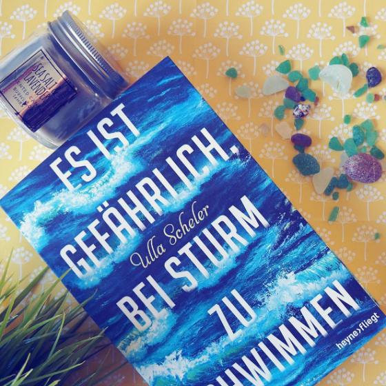 Es ist gefährlich bei Sturm zu schwimmen, das Jugendbuch von Ulla Scheler.
