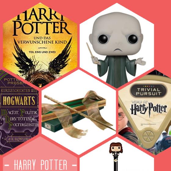 Du kannst nicht genug von Harry Potter bekommen? Wie wäre es mit Harry Potter und das verwunschene Kind, Funko Pop Voldemort, Kurzgeschichten aus Hogwarts, Hermines Zauberstab, Harry Potter Trival Pursuit, Mini Funko-Pop-Figuren auf Kugelschreibern (noch mehr Hermine!
