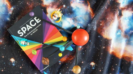 Space: Eine Entdeckungsgeschichte des Weltalls von Heather Couper und Nigel Henbest. Erschienen im Mairisch Verlag.