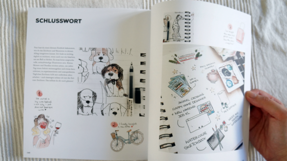 Zum Schluss sehen wir noch ein paar von Karolines eigenen Zeichnungen.