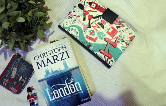 Christophs Marzis neuer Roman über die Uralte Metropole, die sich unter den Straßen Londons erstreckt.