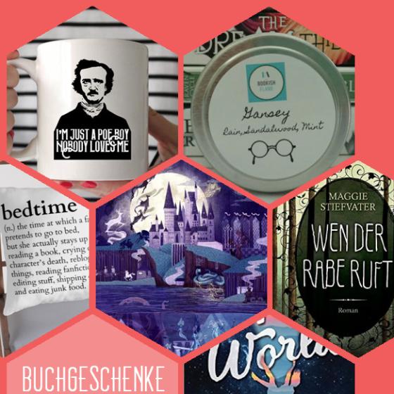 Hogwarts-Poster, Poe-Tasse, Gansey-Kerze, Buch-Kissen oder Bücher: Wie sieht das perfekte Geschenk für Buchwürmer aus?