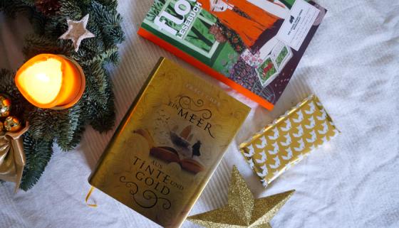 Ein Meer aus Tinte und Gold: Jugendbuch von Traci Chee über eine magische Welt ohne Bücher und eine Leserin mit einem magischen Buch.
