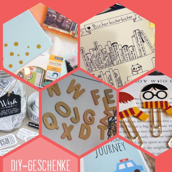 Fotoalbum, Bullett-Journal, Wunschglas, Buchstabenmagneten, Lesezeichen oder Gutschein: hier sind sechs DIY Inspirationen ür selbstgebastelte Weihnachtsgeschenke