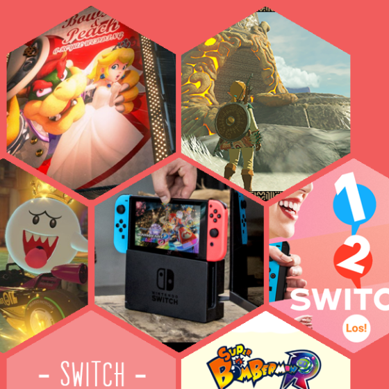 Die neue Nintendo Switch wartet direkt mit einigen großen Titeln auf. Darunter Super Mario Odyssey, Zelda Breath of the Wild, Mario Kart 8 Deluxe, 1 2 Switch und Super Bomberman R.