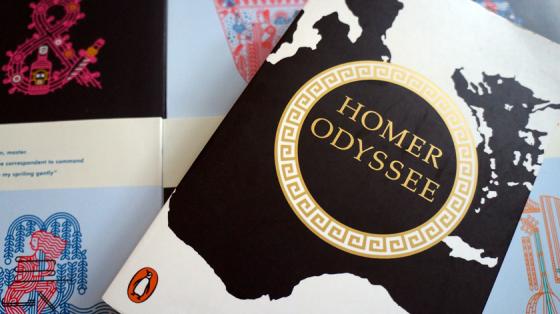 Kurt Steinmanns gefeierte Ausgabe von Homers Odyssee.