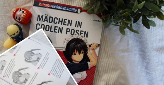 Mit Aida Maki lernen wie man Manga-Mädchen zeichnet.