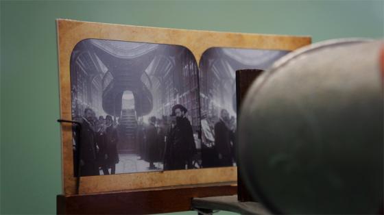 3D-Experimente aus der Anfangszeit der Fotografie.