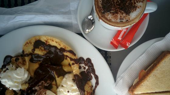 Auch Süßspeisen kann Porto sehr gut.
