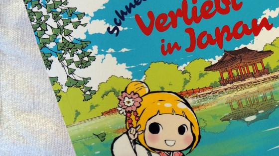 Das Cover des Comics Verliebt in Japan.