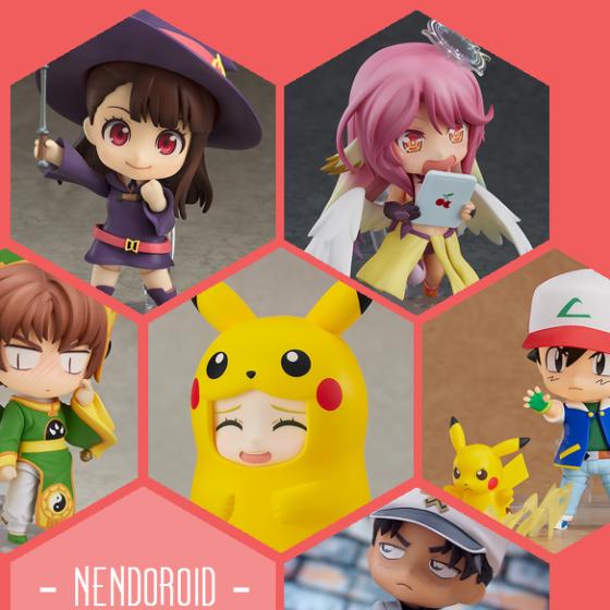 Neue Nendoroids aus Little Witch Academia, No Game No Life, Card Captor Sakura, Pokémon und Detektiv Conan