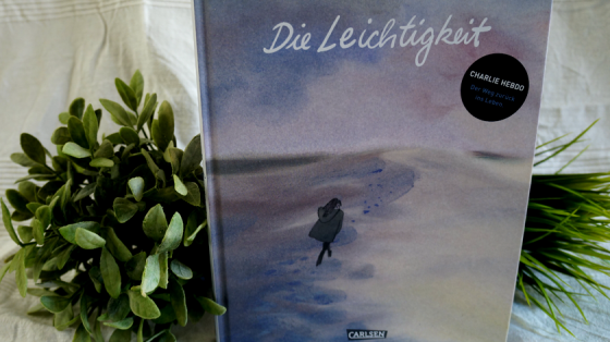 Die Graphic Novel Die Leichtigkeit von Catherine Meurisse.