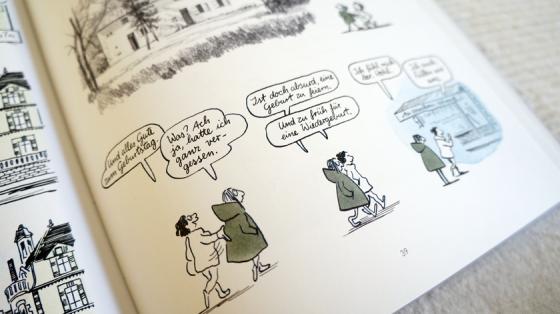 In Karikaturen setzt sich Catherine Meurisse in Die Leichtigkeit mit dem Attentat auf Charlie Hebdo auseinander.