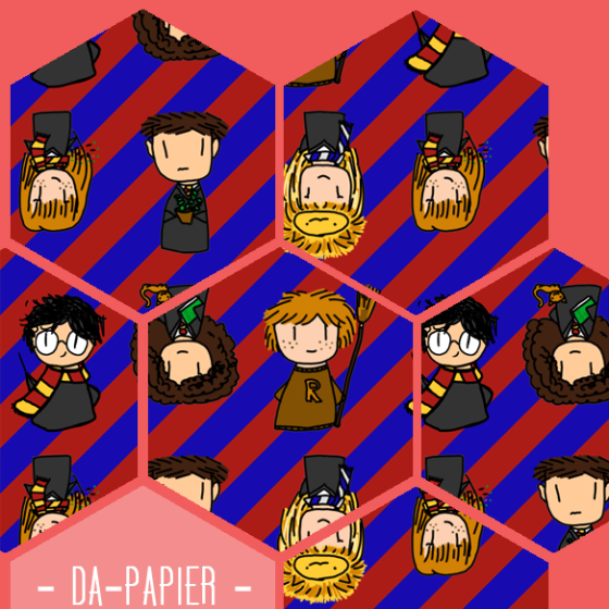 Harry Potter und Dumbledores Armee Geschenkpapier