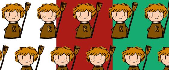 Ron Weasley Geschenkpapier