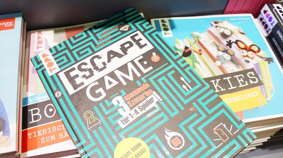 Escape Rooms gibt es nun beim Frech Verlag als Buch.